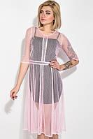Платье женское 115R323 цвет Розовый