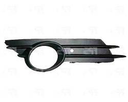 Решетка бампера правая Opel Corsa 07. 06-11 с отверстием под противотуманную фару (DEPO). 6400635