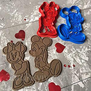 Вирубка зі штампом Міккі Маус (набір) / Вырубка - формочка со штампом Микки Маус (набор)