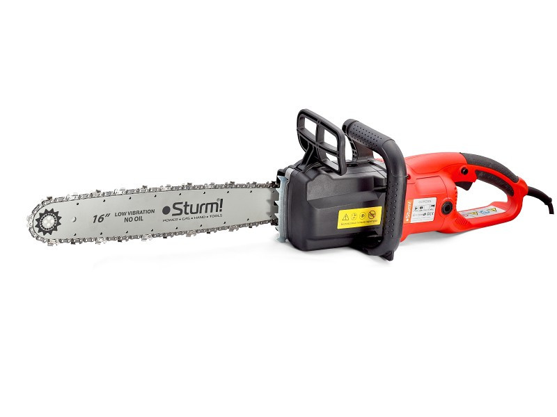 Пила цепная электрическая (безмасляная, 2300 Вт) Sturm CC9923OL / 2 года гарантия