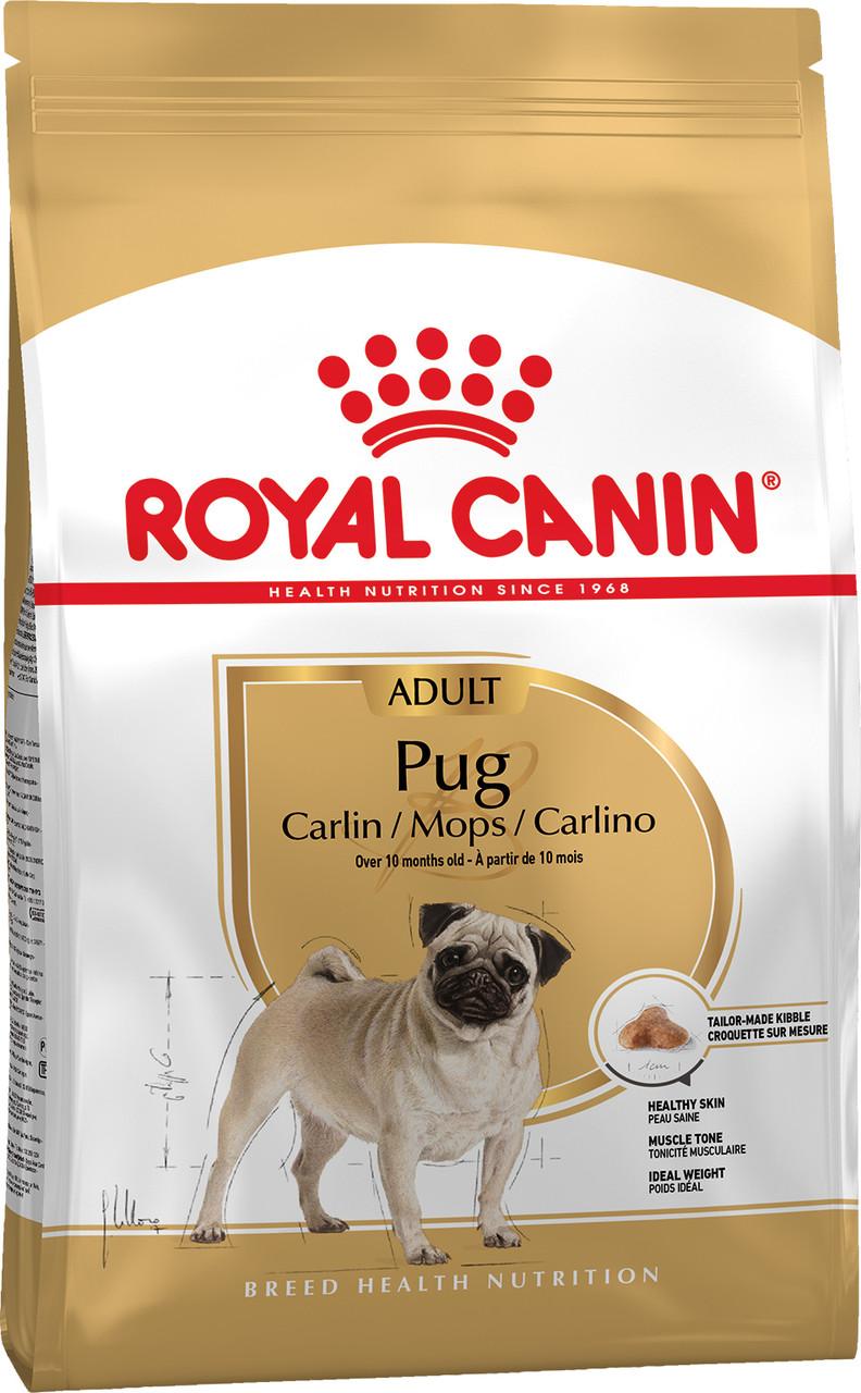 Сухой корм Royal Canin Pug Adult для собак породы Мопс 500 г