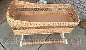 Люлька плетені метрова   ліжечко з лози   плетена з лози колиска
