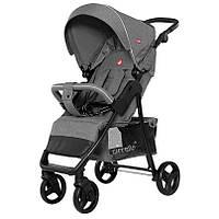 Детская прогулочная коляска CARRELLO Quattro CRL-8502/3 Серый +дождевик (CRL-8502/3 Shark Grey)