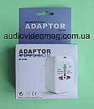 Универсальный переходник-адаптер для разных типов электровилок, фото 2