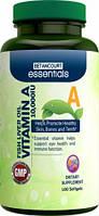 Vitamin A-10,000 fish liver oil (100 softgels)