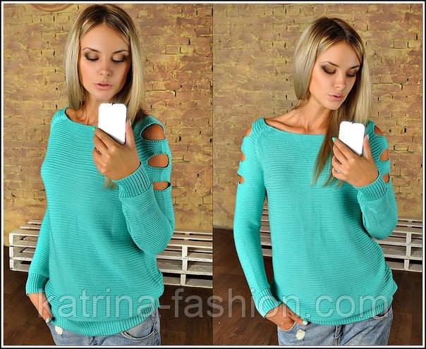 Женский свитер (джемпер) (5 расцветок) - KATRINA FASHION - оптовый интернет-магазин женской одежды  в Харькове
