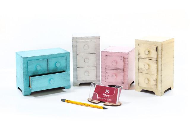 Мини комоды Cube(декорированные)