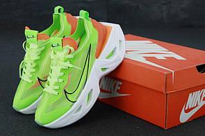 Женские кроссовки на высокой подошве Nike Zoom X Vista Grind в зеленом цвете