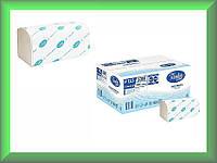 Полотенца бумажные PREMIUM Р123 Tischa Papier (белая 100% целлюлоза, двухслойные, ящик 20 пачек)