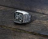 Кольцо серебряное  ВЕЛИКОМУЧЕНИК ГЕОРГИЙ ПОБЕДОНОСЕЦ  108.041-R, фото 2