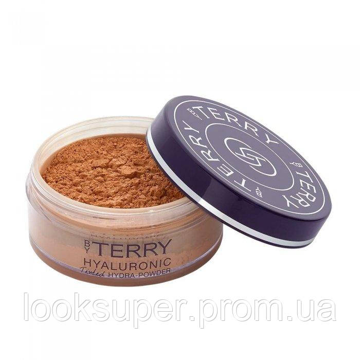 Рассыпчатая пудра By Terry HYALURONIC TINTED HYDRA-POWDER TINTED FACE SETTING POWDER    N°500 MEDIUM DARK