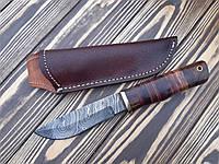 Нож охотничий   из дамасской стали Ds-45 C