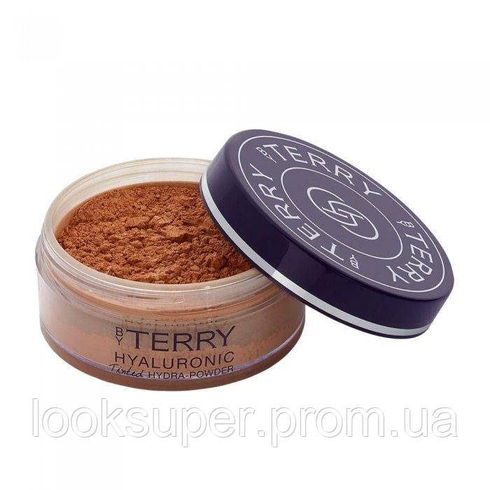 Рассыпчатая пудра By Terry HYALURONIC TINTED HYDRA-POWDER TINTED FACE SETTING POWDER   N°600 DARK