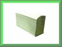Полотенца бумажные Z-складка ЕCО Р422 Tischa Papier (макулатура светло-зеленого цвета, однослойные, ящик 25 па