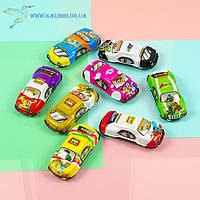 Машинки инерционные цветные