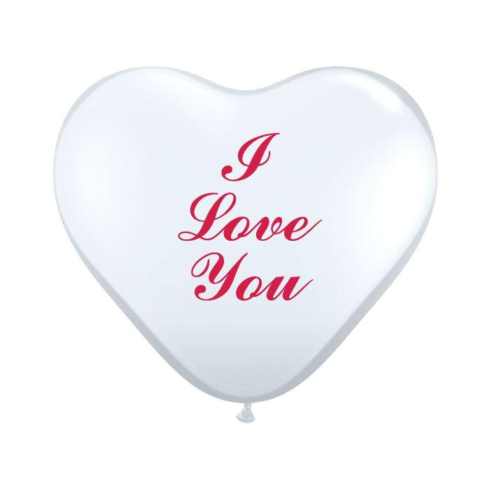 "Q 11"" I Love You Clear Heart Люблю тебя чистое сердце"