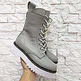 Женские высокие ботинки на шнуровке демисезонные WooDstock (новые цвета), фото 8