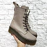 Женские высокие ботинки на шнуровке демисезонные WooDstock (новые цвета), фото 9