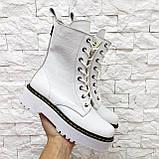 Женские высокие ботинки на шнуровке демисезонные WooDstock (новые цвета), фото 3