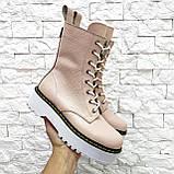 Женские высокие ботинки на шнуровке демисезонные WooDstock (новые цвета), фото 5