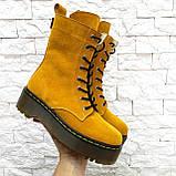 Женские высокие ботинки на шнуровке демисезонные WooDstock (новые цвета), фото 10