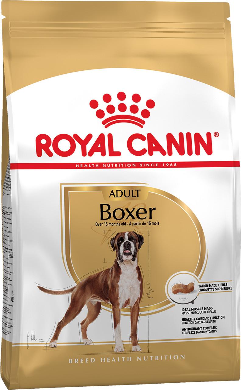 Сухой корм Royal Canin Boxer Adult для собак породы Боксер 12 кг