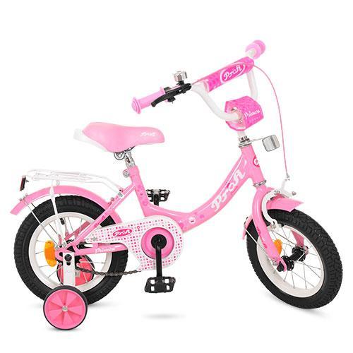 Велосипед детский Profi Принцесса, Princess 12 дюймов (Y1211) Pink