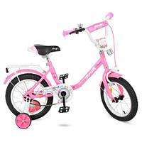 Велосипед для девочки 14 дюймов Flower, PROF1 14Д. Y1481