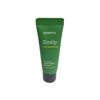 Бессульфатный укрепляющий шампунь с розмарином  AromaticaRosemary Scalp Scaling Shampoo, 20 мл, фото 2