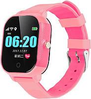 Детские смарт-часы Lemfo DF50 Ellipse Aqua с GPS трекером (Розовый)