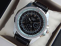 Мужские кварцевые наручные часы Diesel на кожаном ремешке