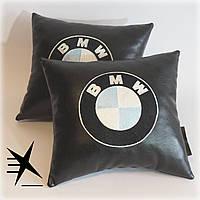 Автоаксессуары для BMW - подушка в машину. Ручная работа