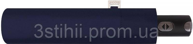 Зонт складной Doppler Carbonsteel 744863DMA автомат Синий, фото 2