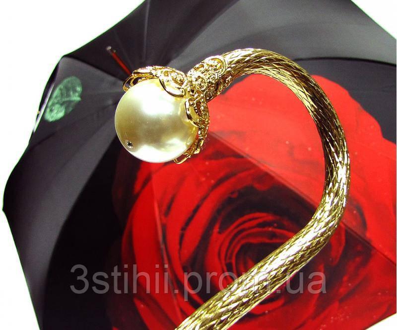 Зонт-трость Doppler 12021-1 полуавтомат Роза-1