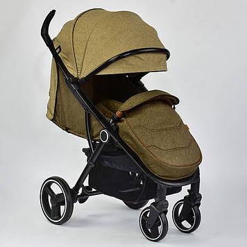 Коляска детская JOY 6883 цвет COFFEE Детская прогулочная коляска