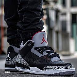 Кроссовки мужские Nike Air Jordan 3 / AJM-045 (Реплика)