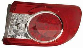 Фонарь правый Toyota Land Cruiser J100 (-05) LED внешний (DEPO). 212-19L4R-A