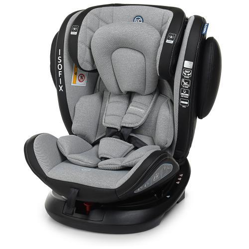 Автокресло El Camino (группа 0-1-2-3 (0-36кг) EVOLUTION 360º Royal Gray IsoFix арт. 1045