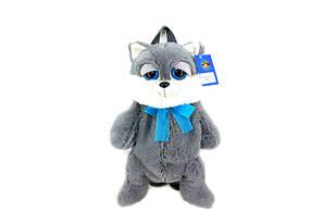Детский рюкзак Кот (Серый)
