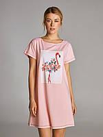 Стильная ночная сорочка ELLEN с коротким рукавом