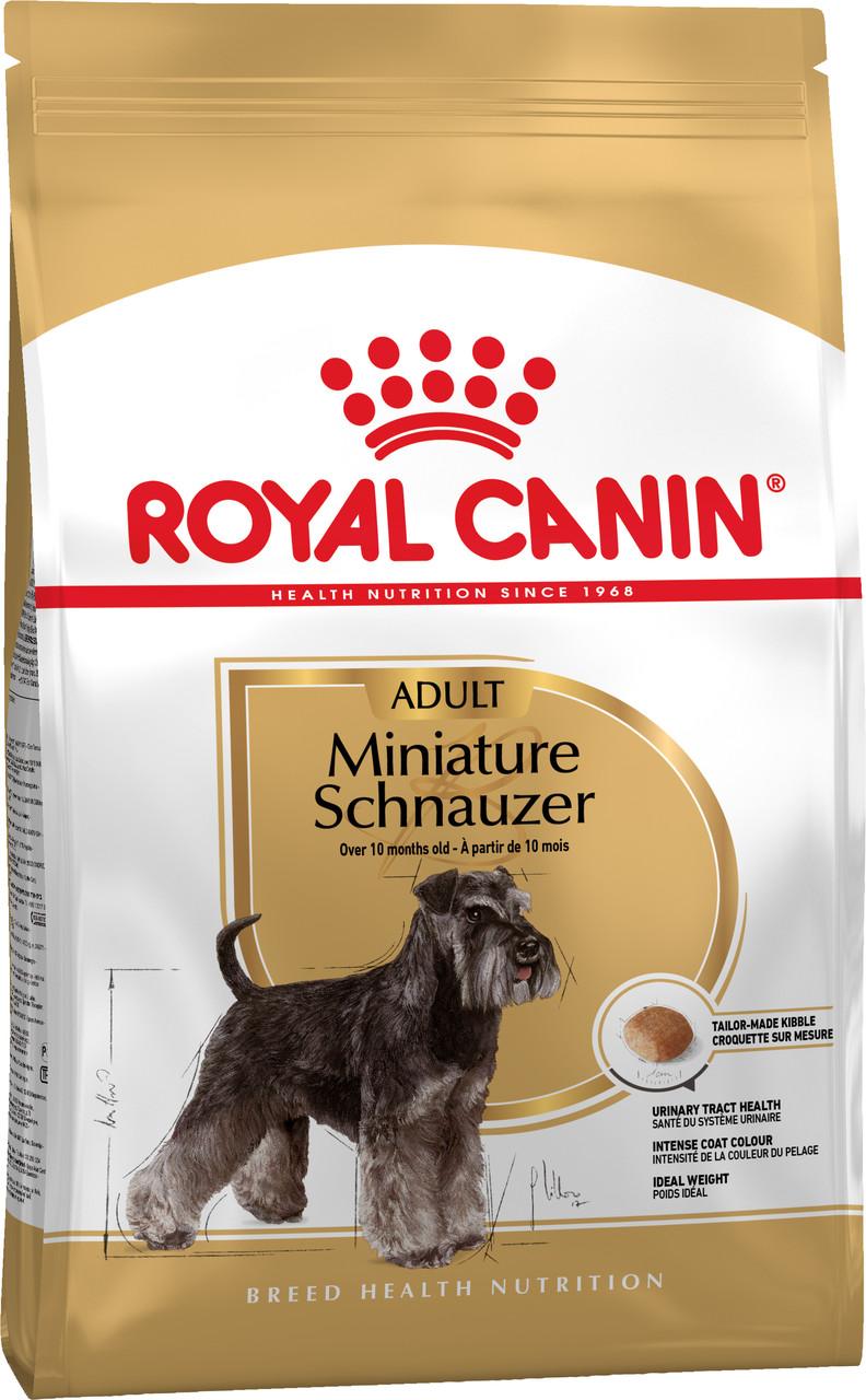 Сухой корм Royal Canin Miniature Schnauzer Adult для собак породы Шнауцер 500 г