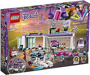 Конструктор LEGO 41351 Friends Майстерня з тюнінгу автомобілів 413 дет (ЛЕГО Френдс Мастерская по тюнингу )