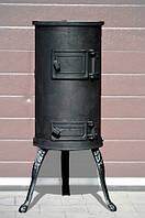 Отопительная печь чугунная, буржуйка KARLIK Koza, фото 1