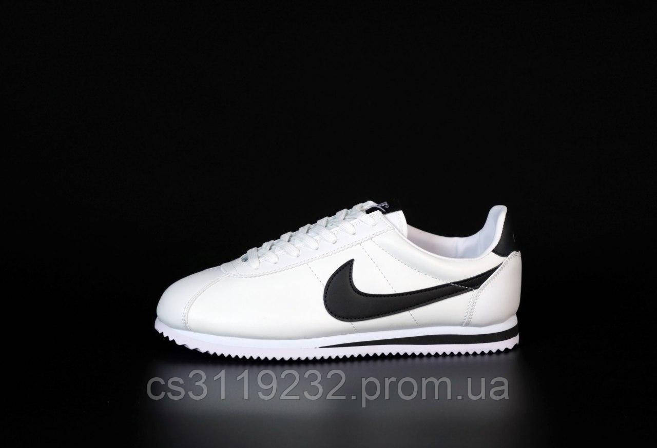 Мужские кроссовки Nike Cortez (белые)
