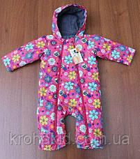 """Детский демисезонный комбинезон """"KIDS"""" - 74-86 см /  весенний комбинезон от 8 до 18 мес, фото 3"""
