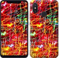 Чехол EndorPhone на Xiaomi Mi8 Неоновые узоры 3604u-1499-18675 (hub_SFOD64330)