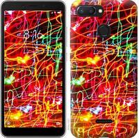 Чехол EndorPhone на Xiaomi Redmi 6 Неоновые узоры 3604c-1521-18675 (hub_SbxX85057)
