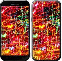 Чехол Endorphone на Samsung Galaxy A5 2017 Неоновые узоры 3604c-444-18675 (3604-444)