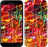 Чехол Endorphone на Samsung Galaxy A7 2017 Неоновые узоры 3604c-445-18675 (3604-445)