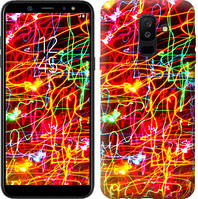 Чехол Endorphone на Samsung Galaxy A6 Plus 2018 Неоновые узоры 3604c-1495-18675 (3604-1495)